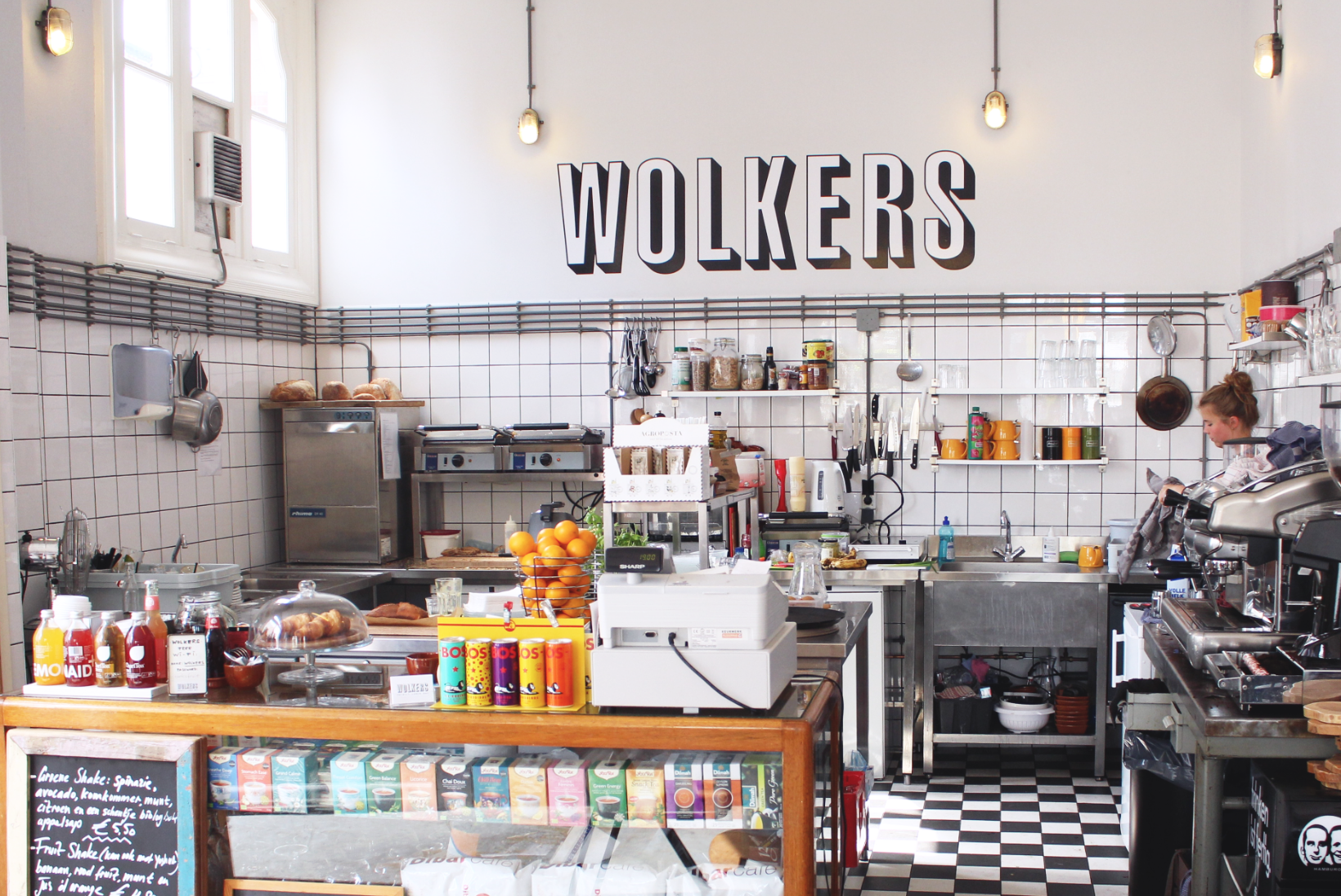Lunchtent Wolkers in Haarlem