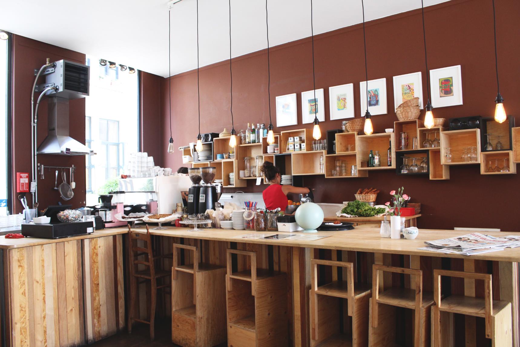 Lunchen bij Maison Tartine in Antwerpen