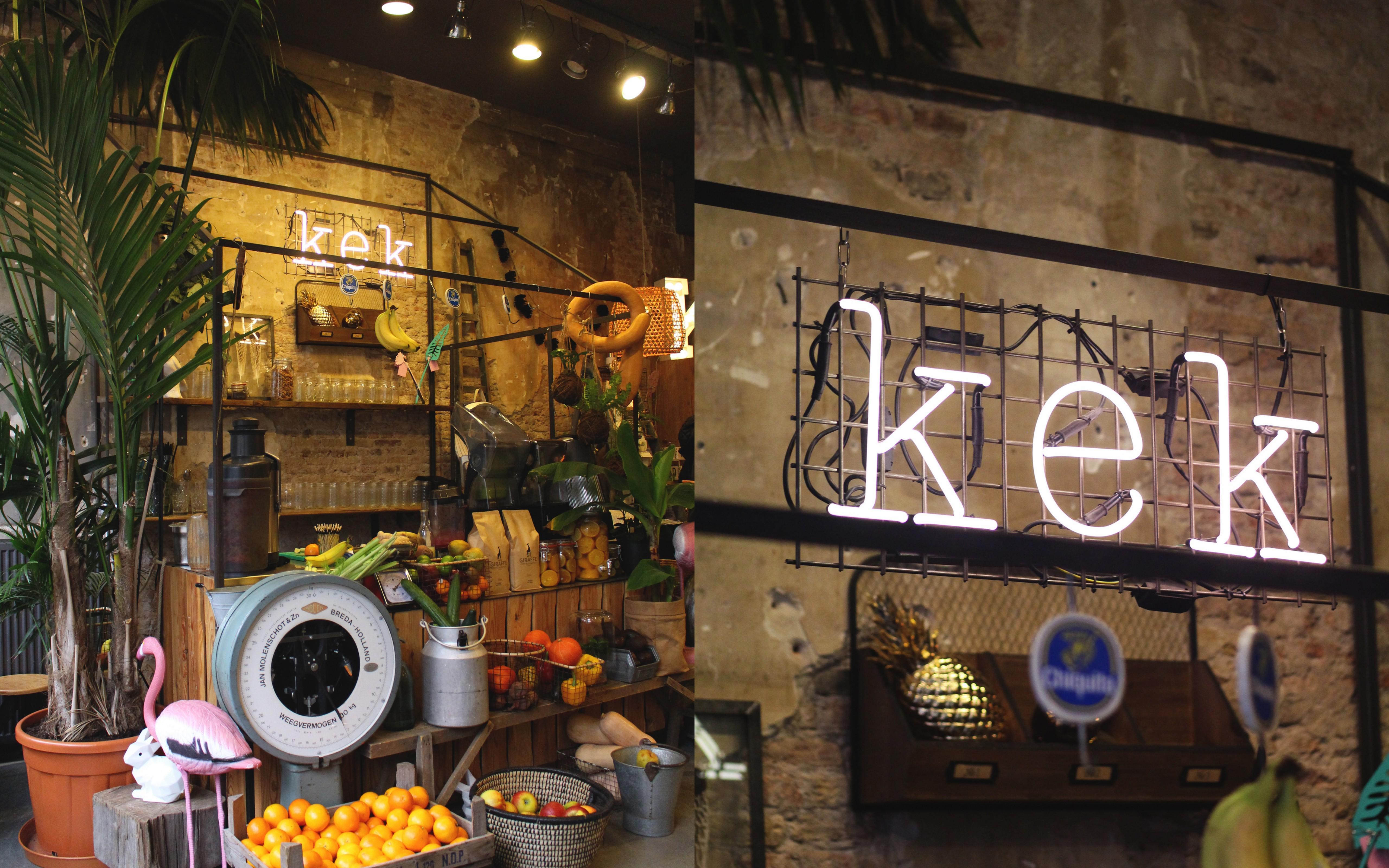 Eten en drinken bij hotspot Kek in Delft