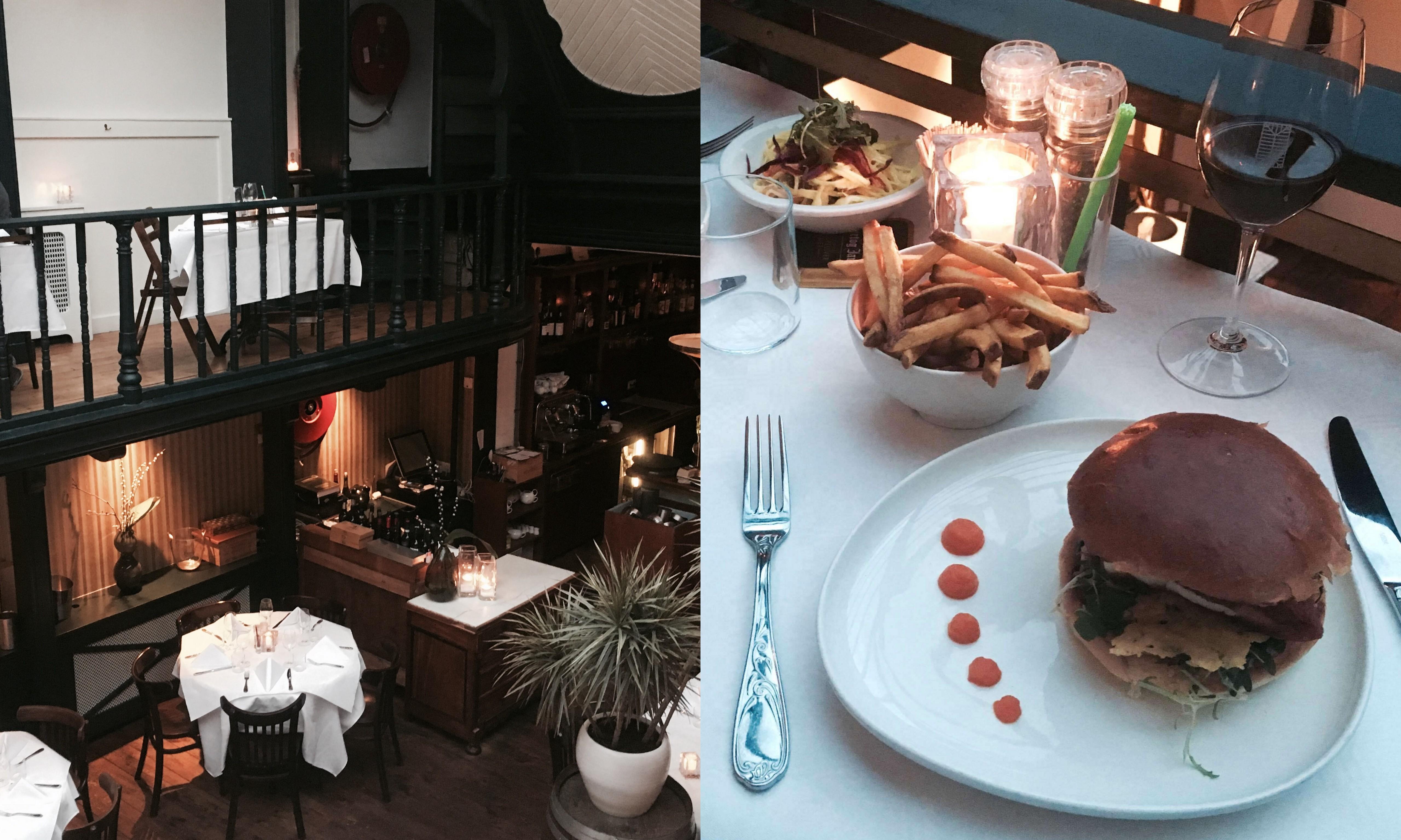 Hamburgers eten in Den Haag