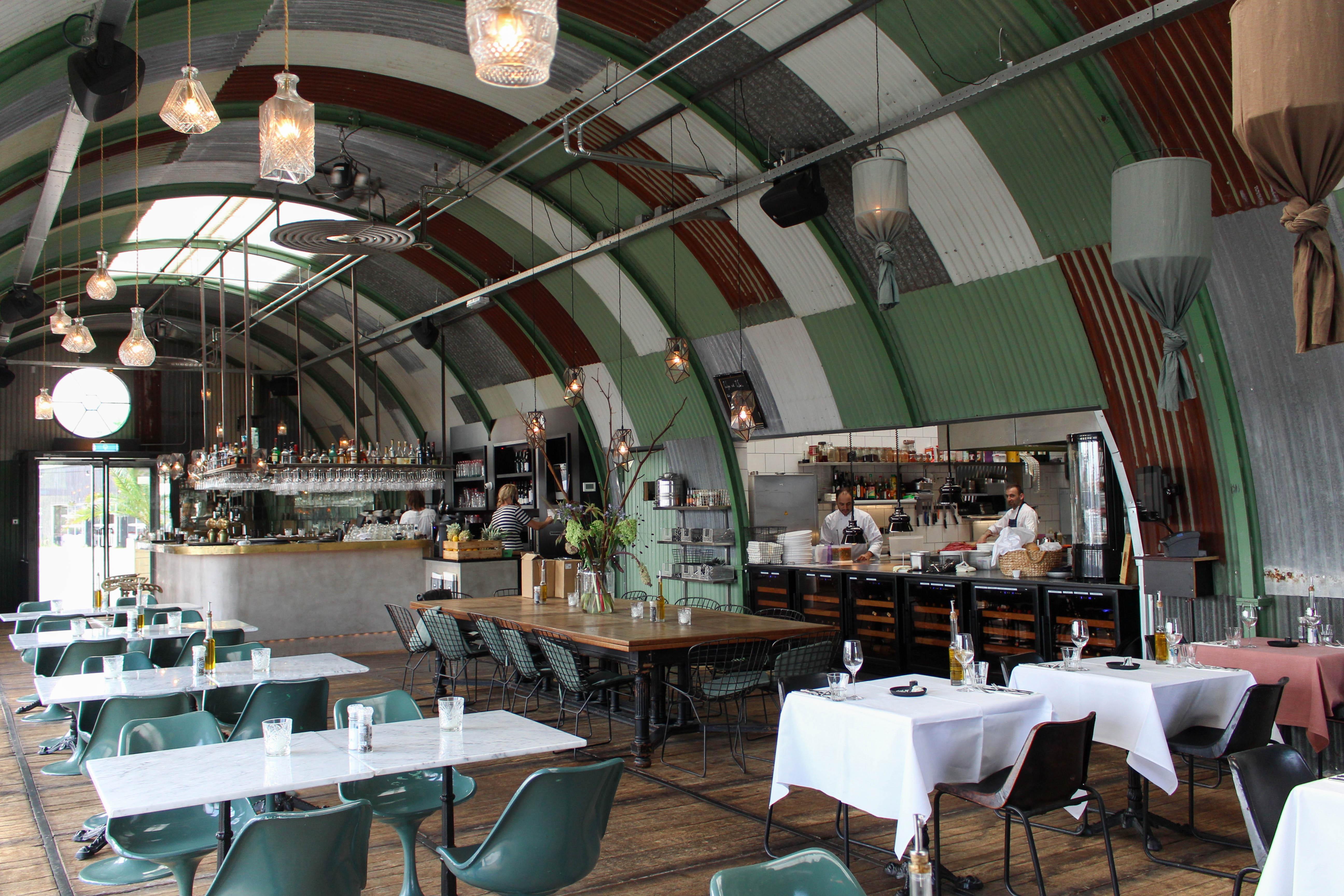 Restaurant Hangar in Amsterdam Noord