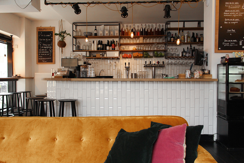 Restaurant De Bouwmeester in de Rijnstraat in Amsterdam-Zuid