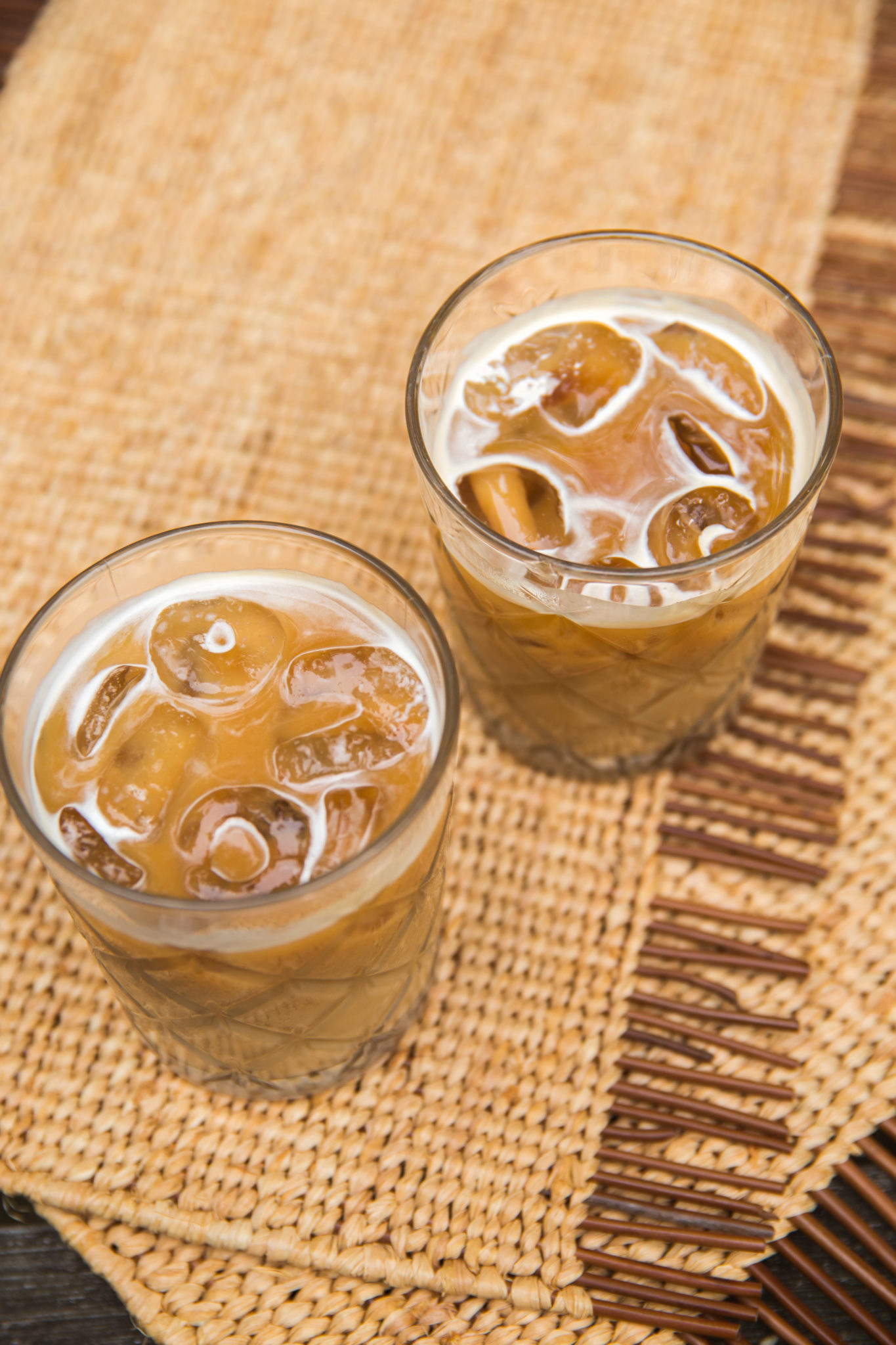 IJskoffie maken met havermelk en vanille recept