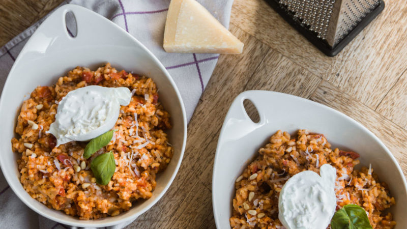 Inspiratie voor vegetarische risotto recepten