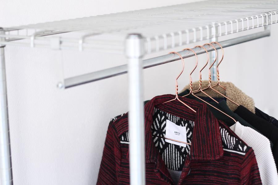 Primark roségouden kledinghangers