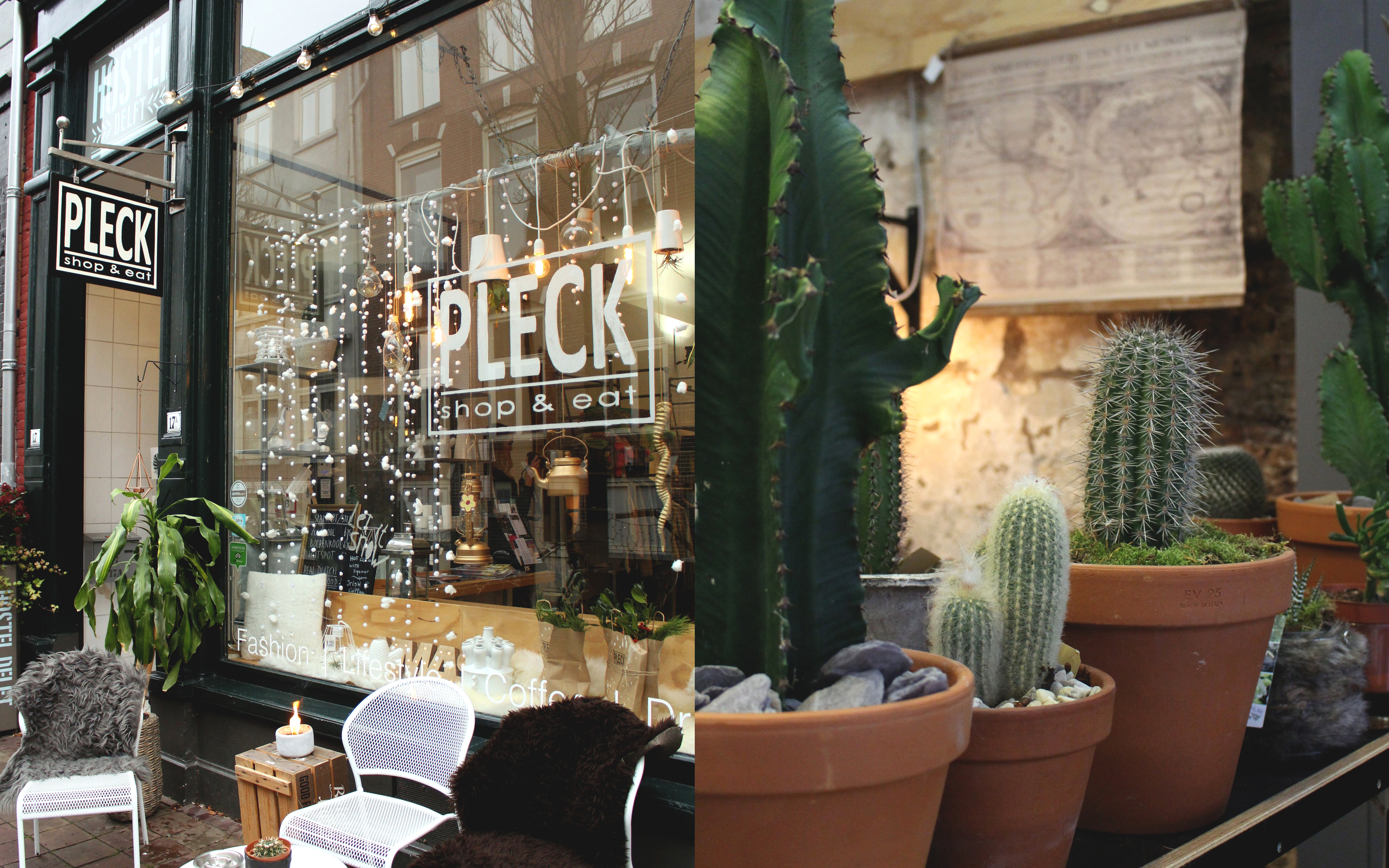 Conceptstore Pleck in Delft