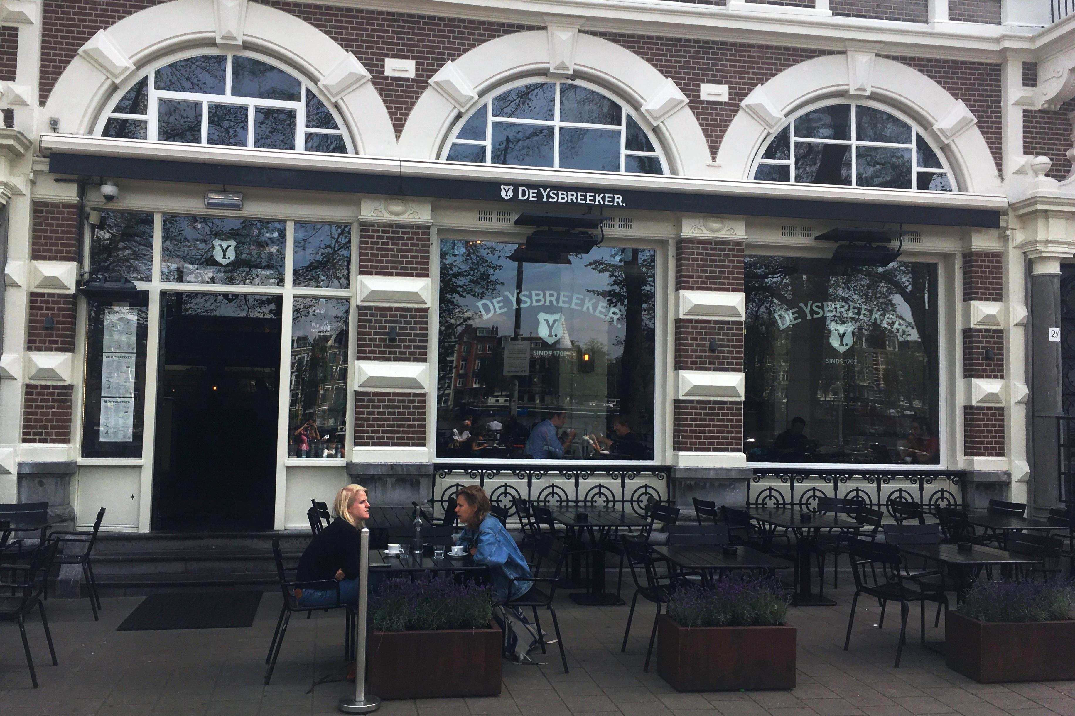 restaurant De Ysbreeker aan de Amstel in Amsterdam