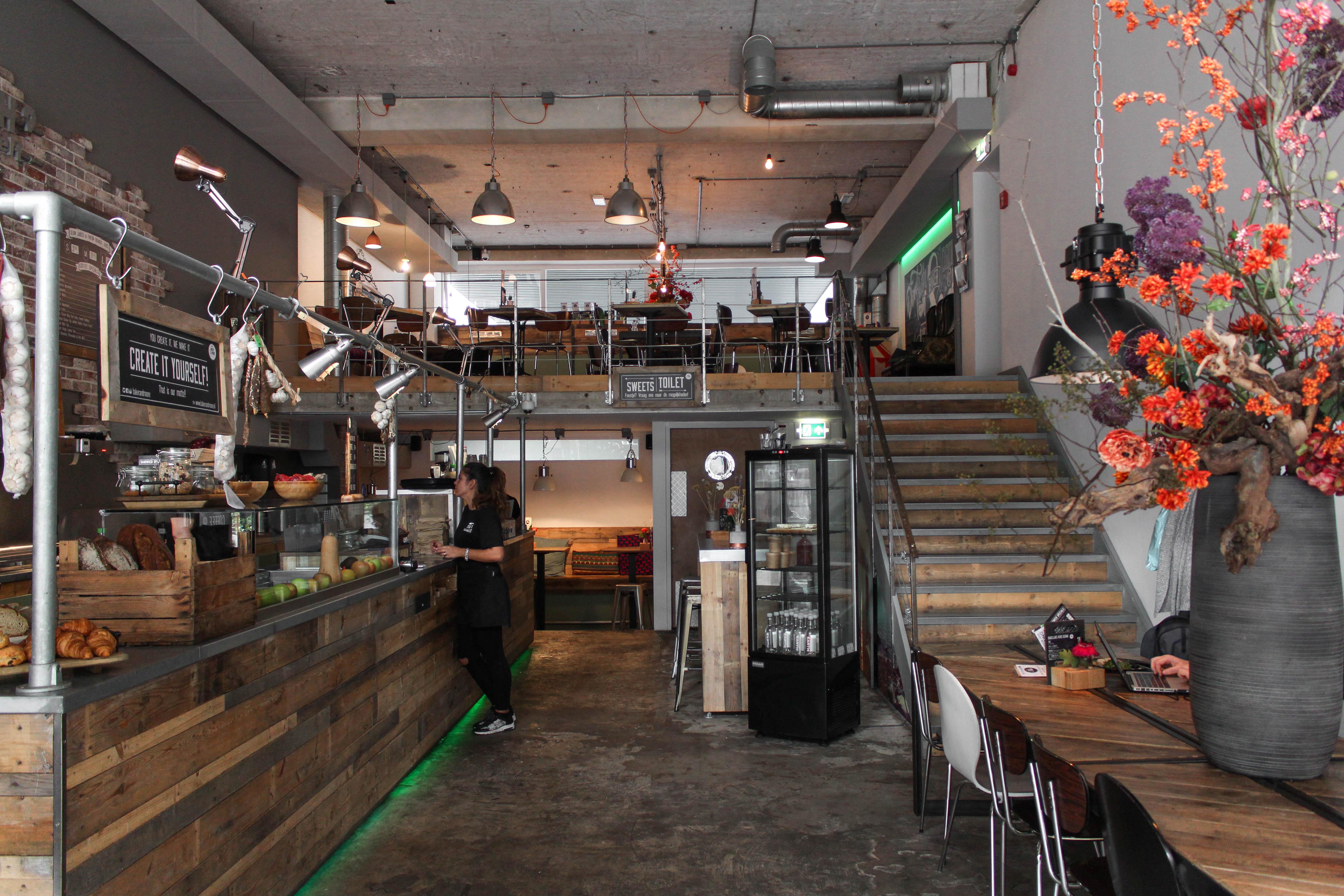 Ontbijten en lunchen bij Baker and Moore in Rotterdam