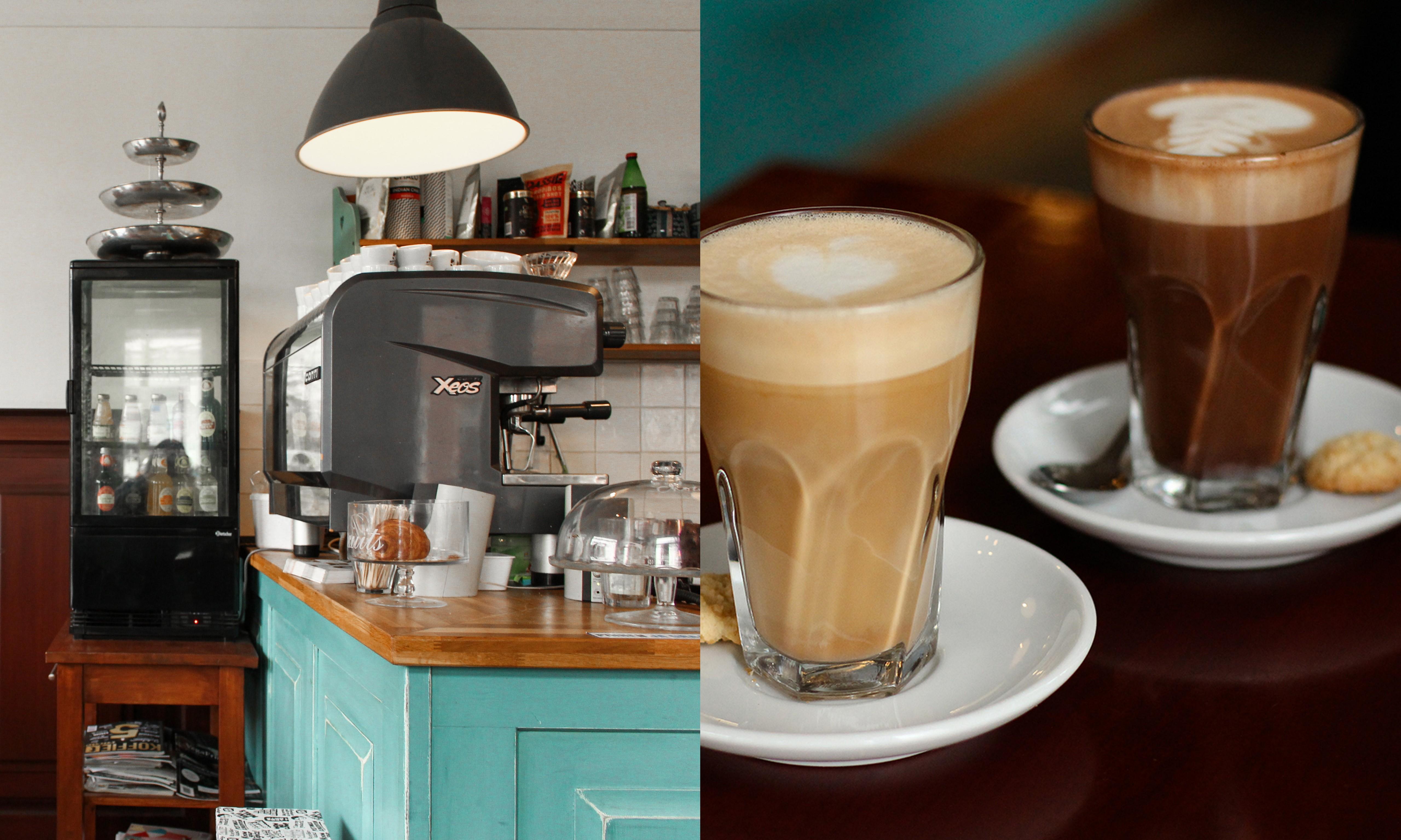 Koffie en de Koeck bij Westerpark in Amsterdam