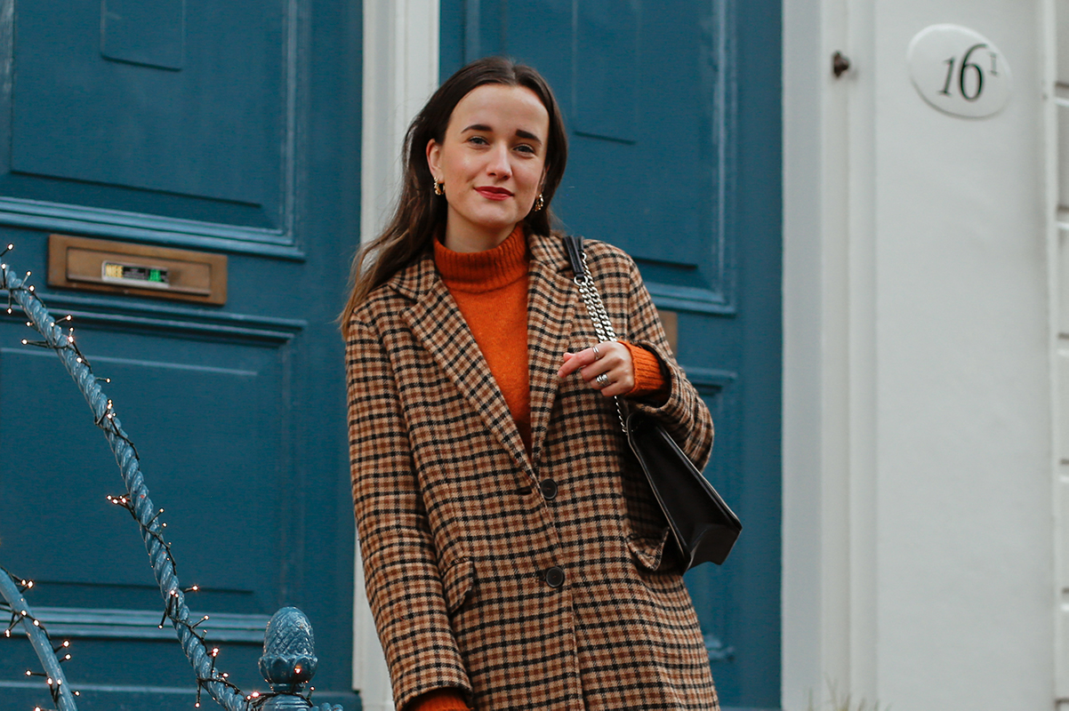 Winterse outfit in Amsterdam