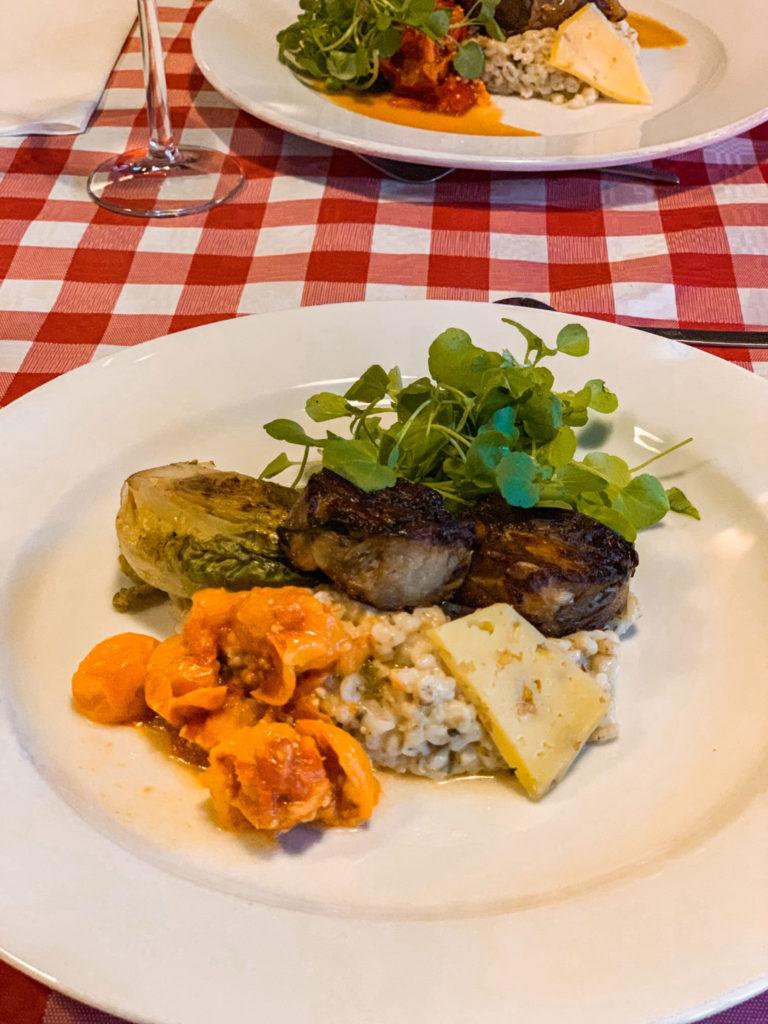 Dineren op Forteiland Pampus