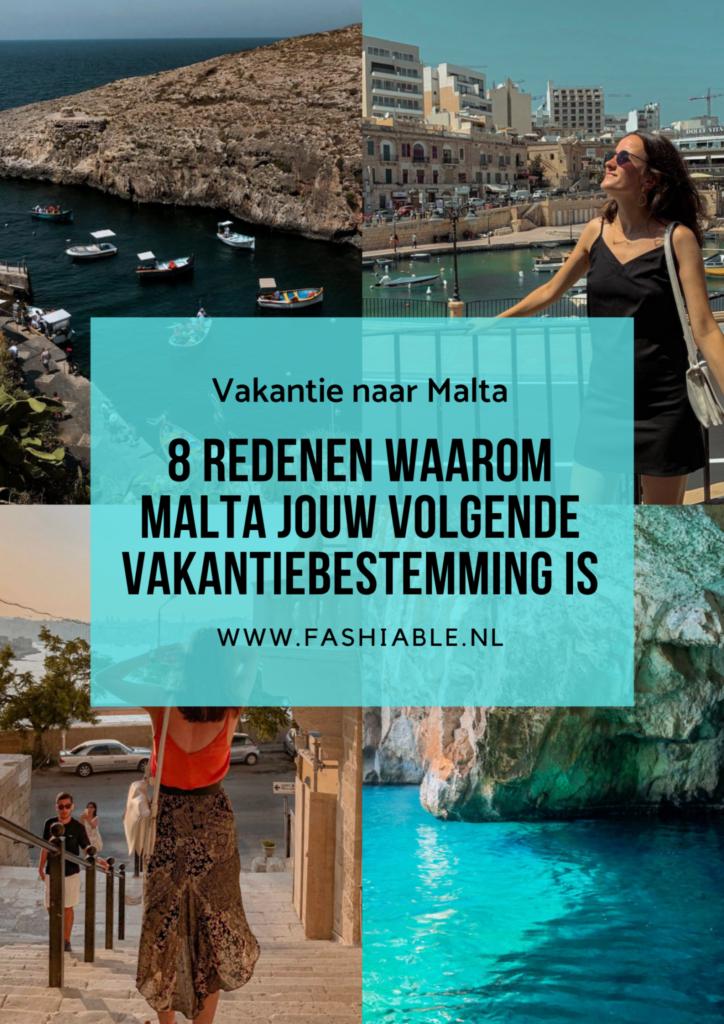 Hierom moet je op vakantie naar Malta