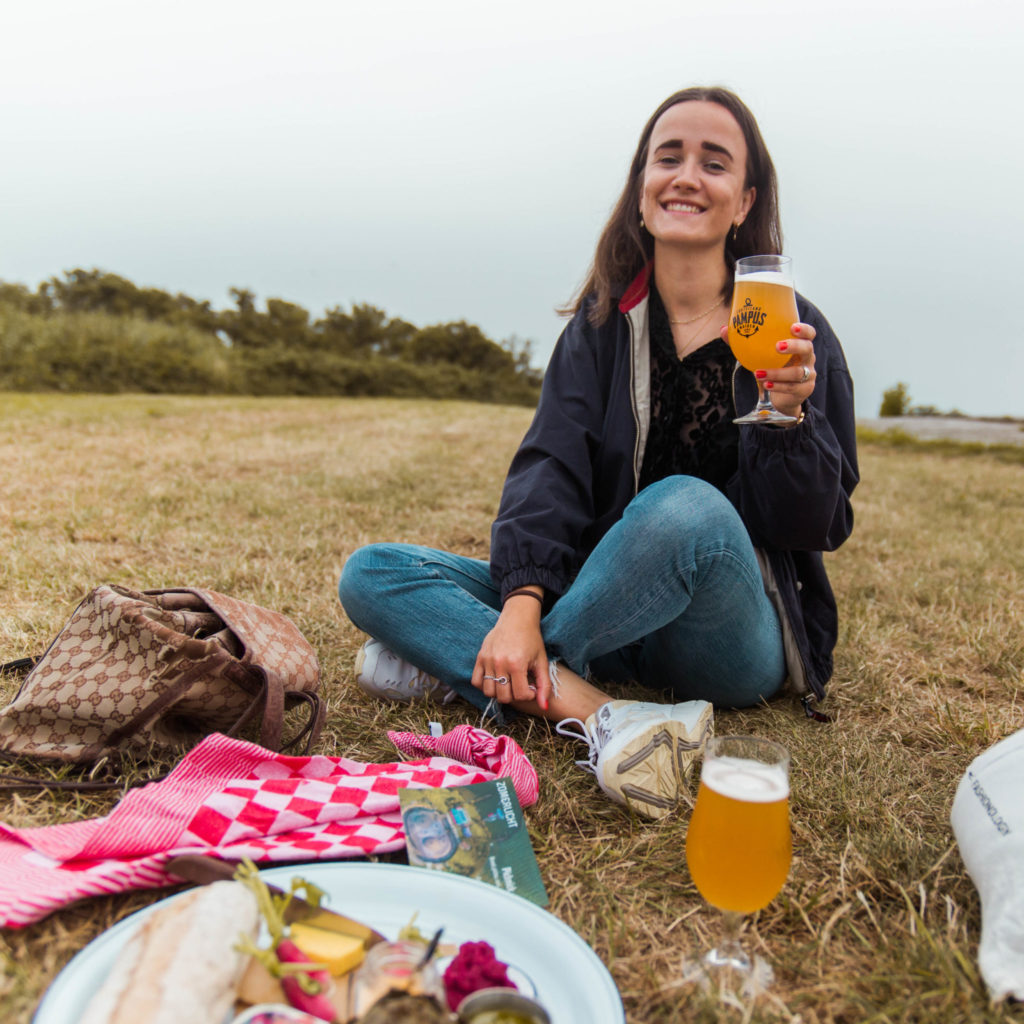 Picknick op Forteiland Pampus