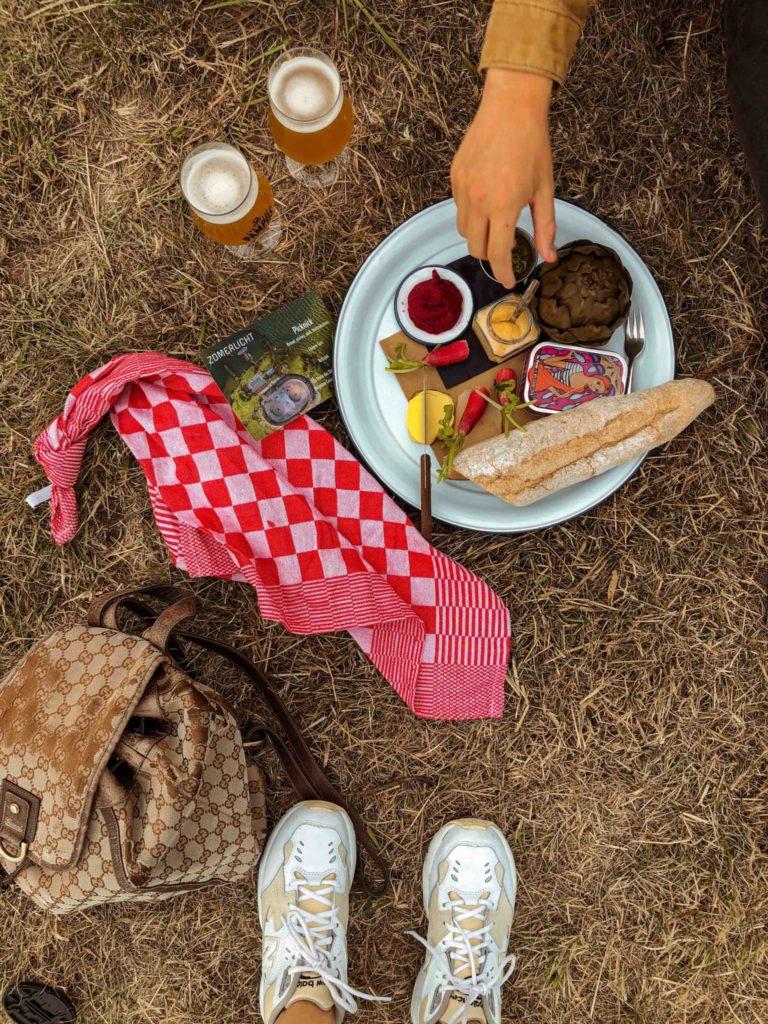 Picknicken op Forteiland Pampus