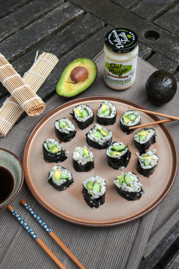Koolhydraatarme sushi met bloemkoolrijst receot