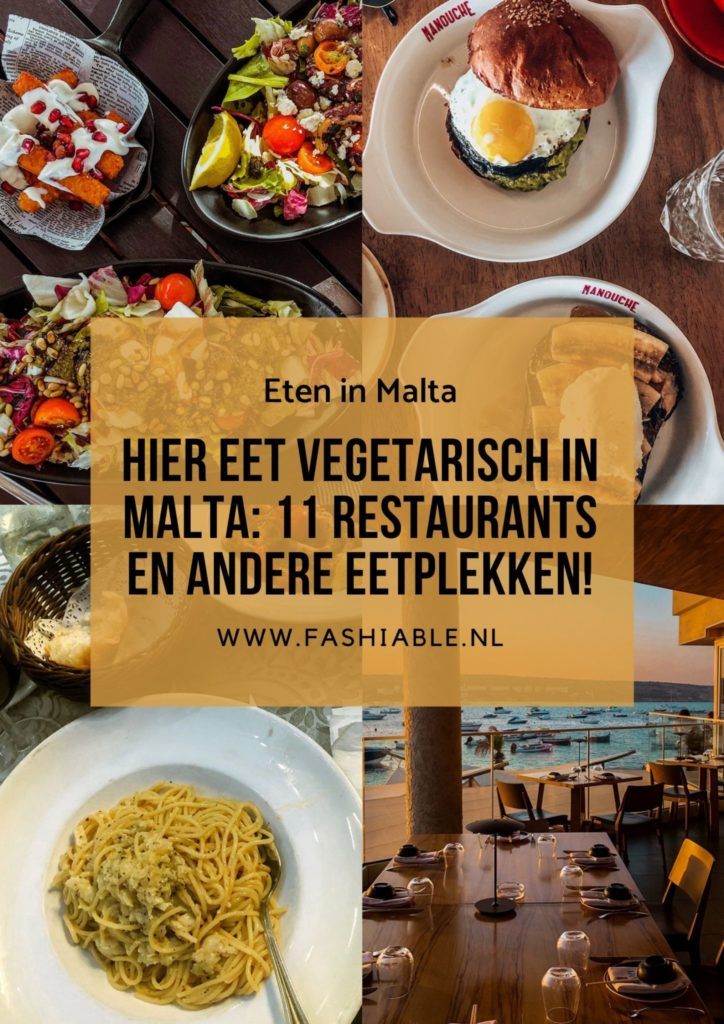 Vegetarisch eten in Malta