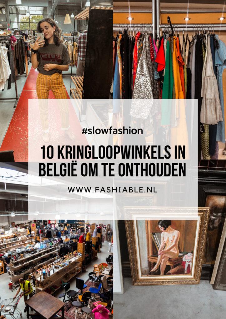 10 kringloopwinkels in België om te onthouden
