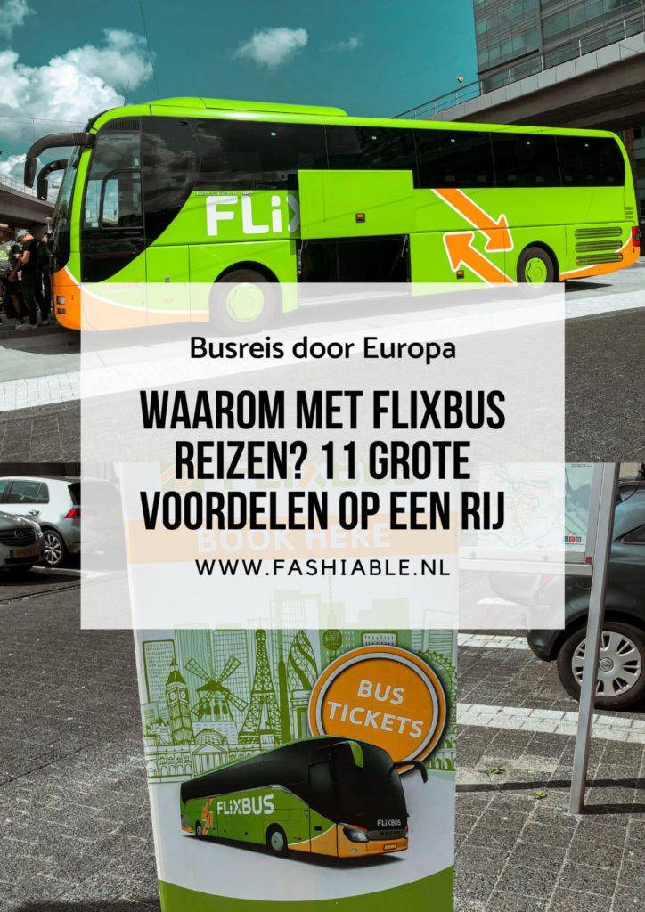 Alle voordelen van reizen met FlixBus