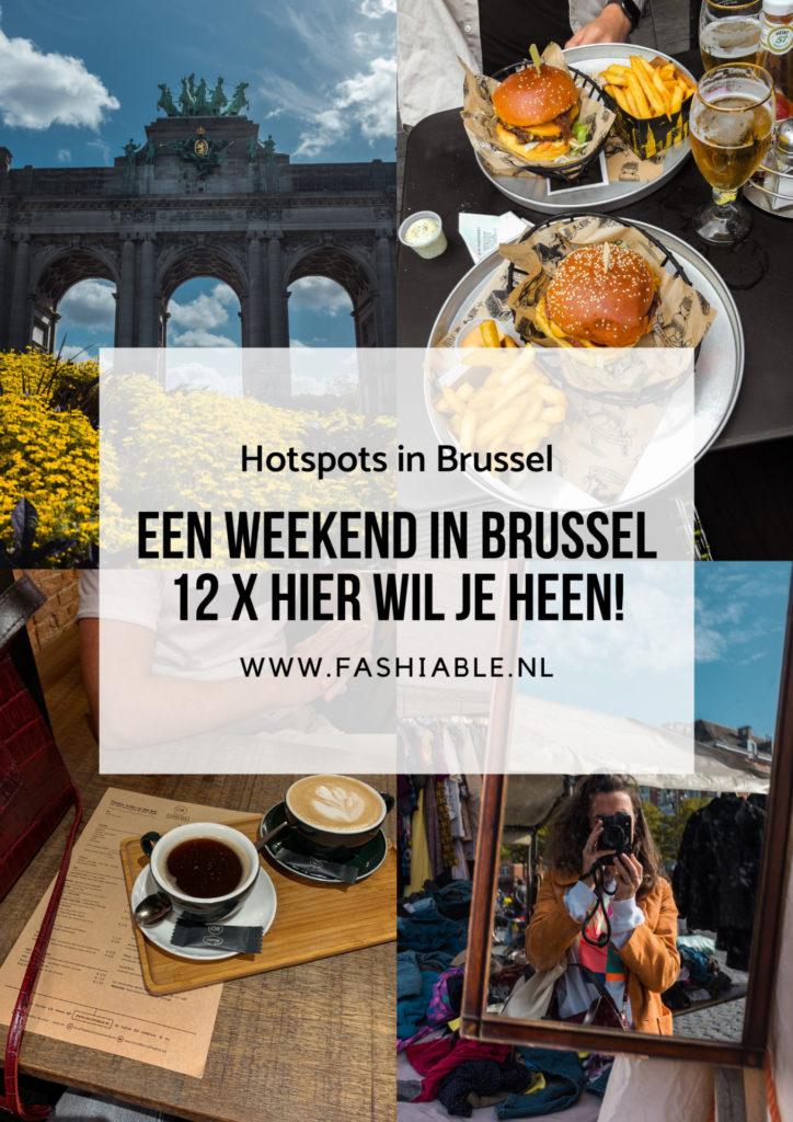 Een weekend in Brussel, België - hier wil je heen