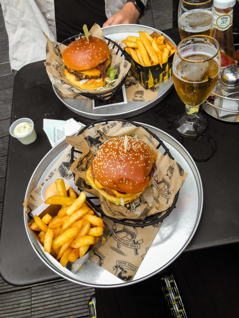 Een weekend in Brussel - Manhattn's burgers