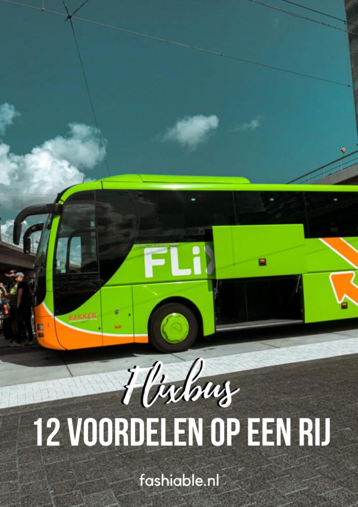 Reizen met Flixbus - Dit zijn de voordelen!