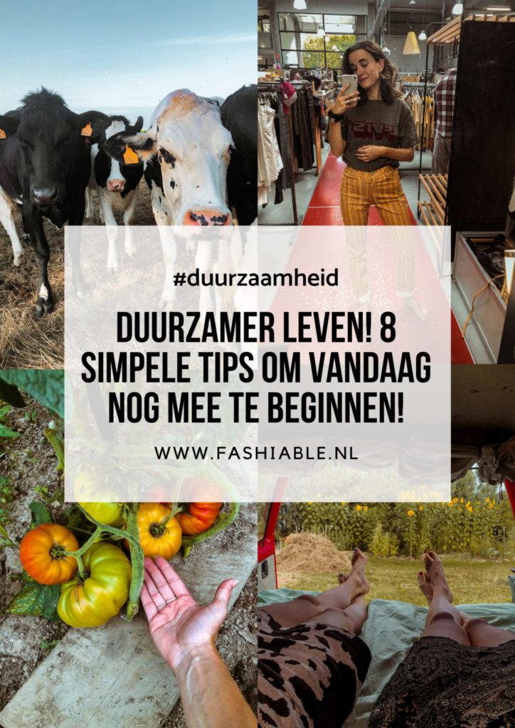 Simpele tips om duurzamer te leven-1