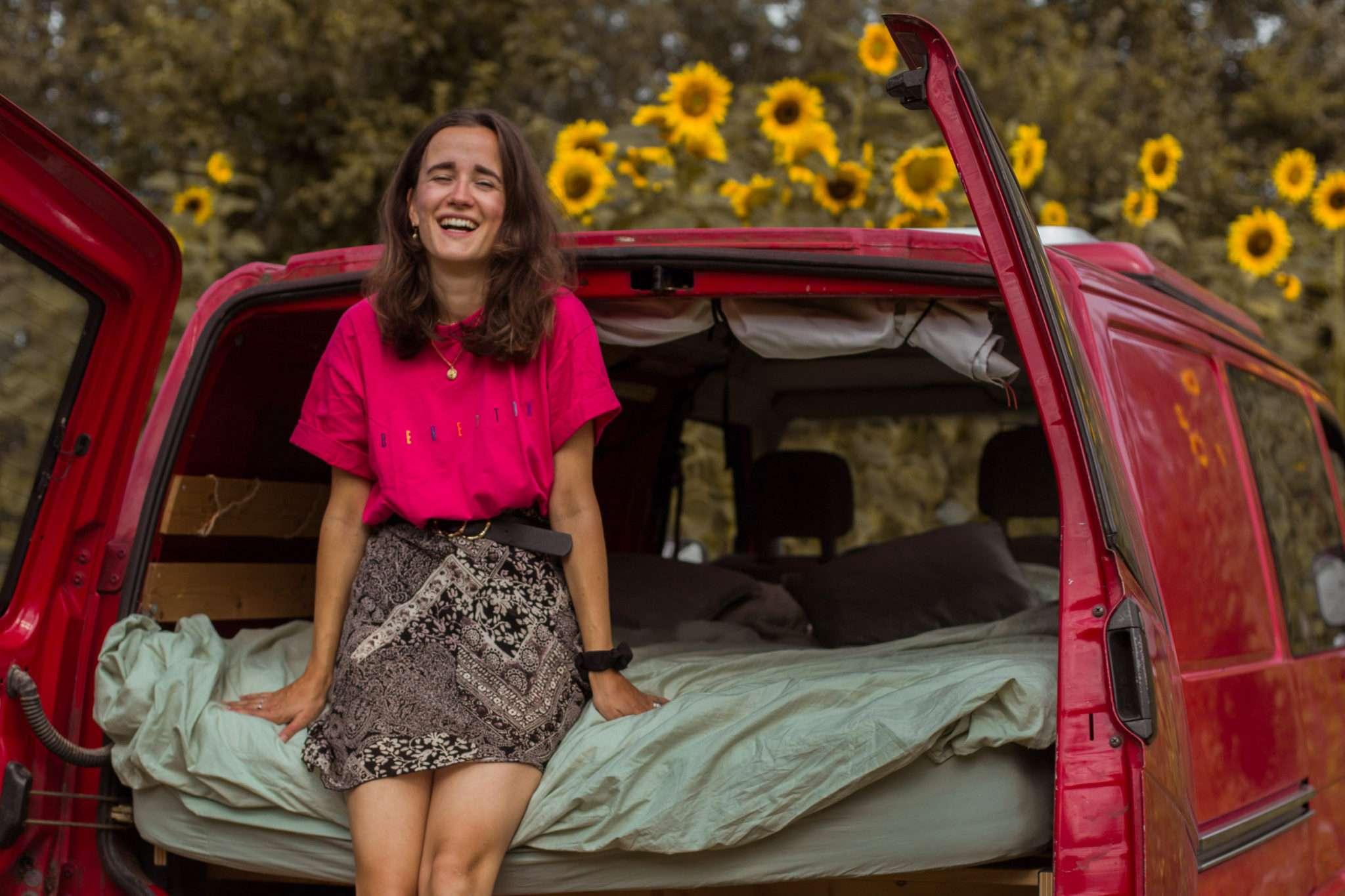 Campspace in België: wildkamperen in een moestuin de buurt van Gent