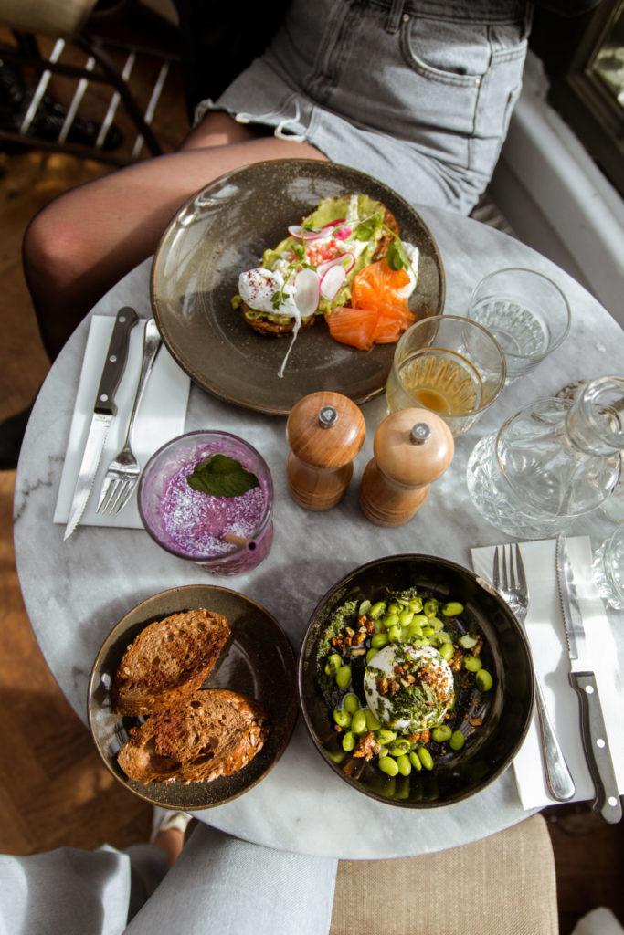 Lucnchen en dineren bij Paco Ciao