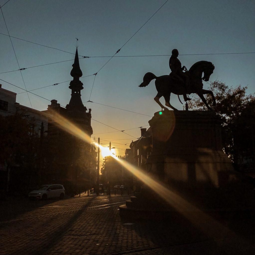 Er even tussenuit in de herfst - Antwerpen