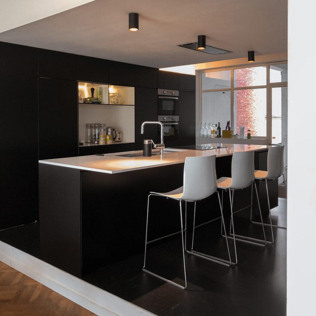 Verhuizen naar Antwerpen - de keuken