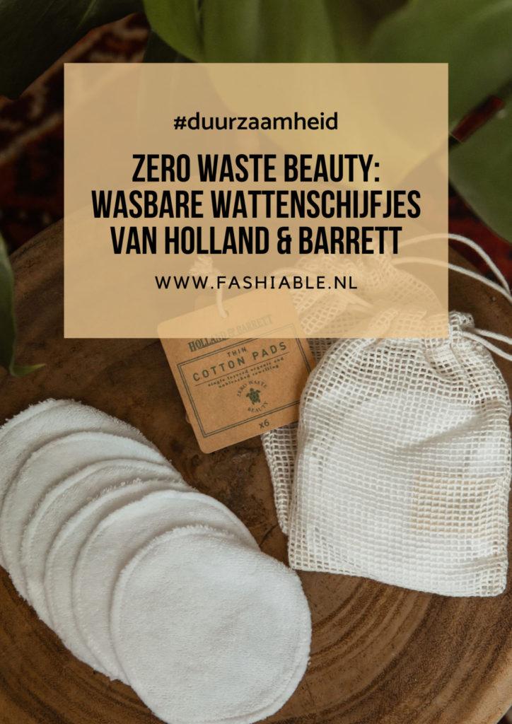 Zero Waste Beauty wasbare wattenschijfjes