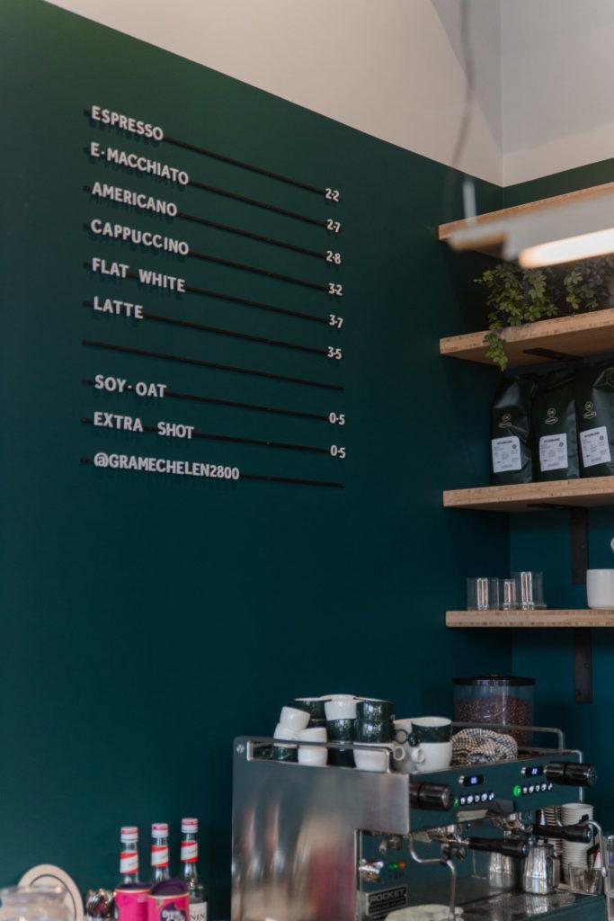 Koffiebar GRÁ in Mechelen
