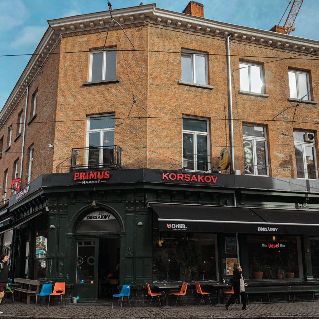 Speciaalbiertjes drinken in Antwerpen bij café Korsakov