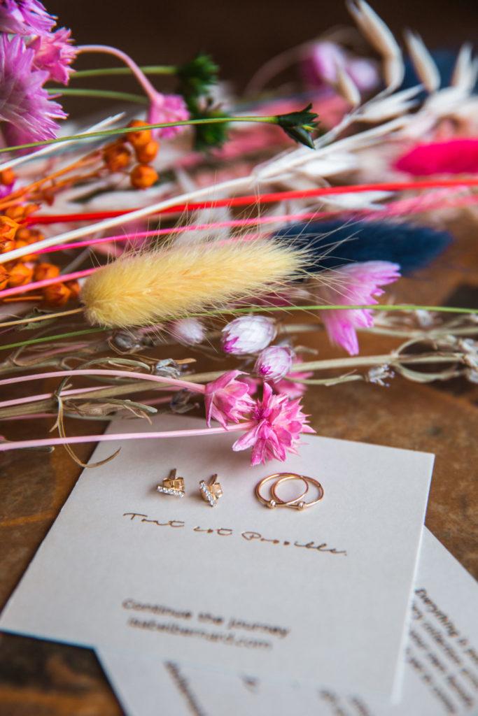 Gouden sieraden van Isabel Bernard