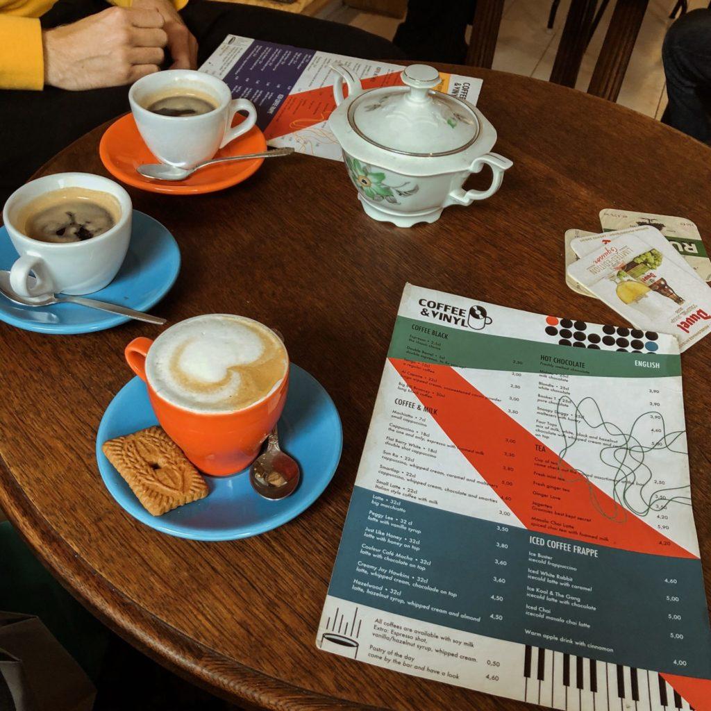 Koffietenten in Antwerpen: Coffee & Vinyl op Het Zuid