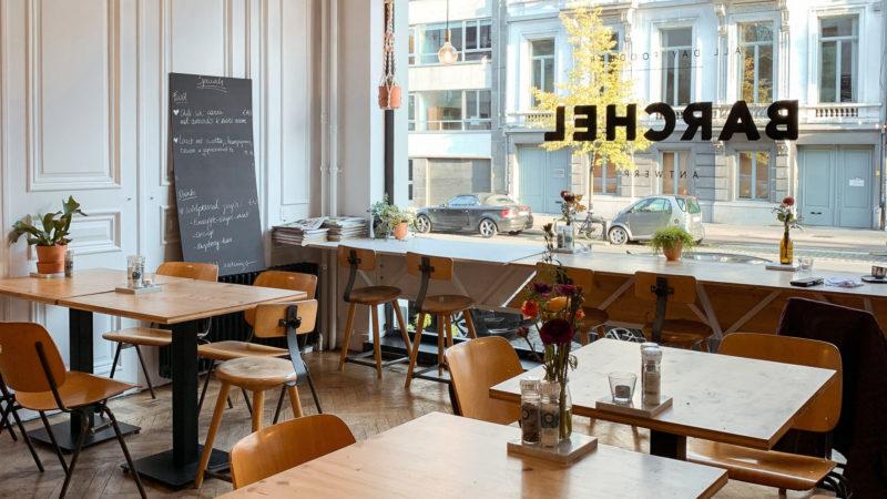 Koffiebar en lunchtent Barchel in Antwerpen