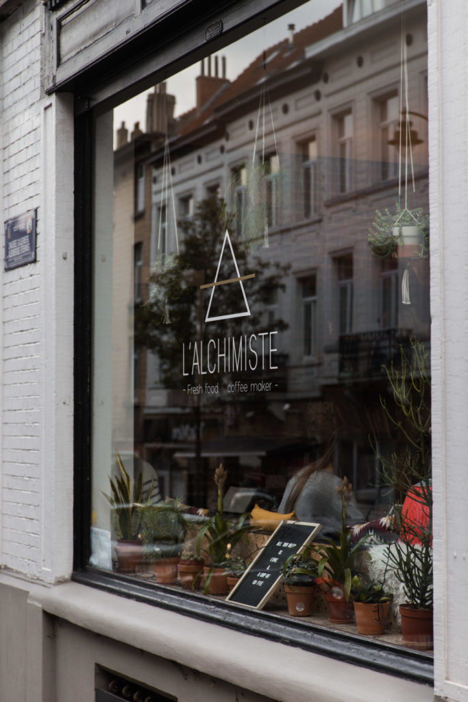 Vegan lunchen bij L'Alchimiste in Brussel