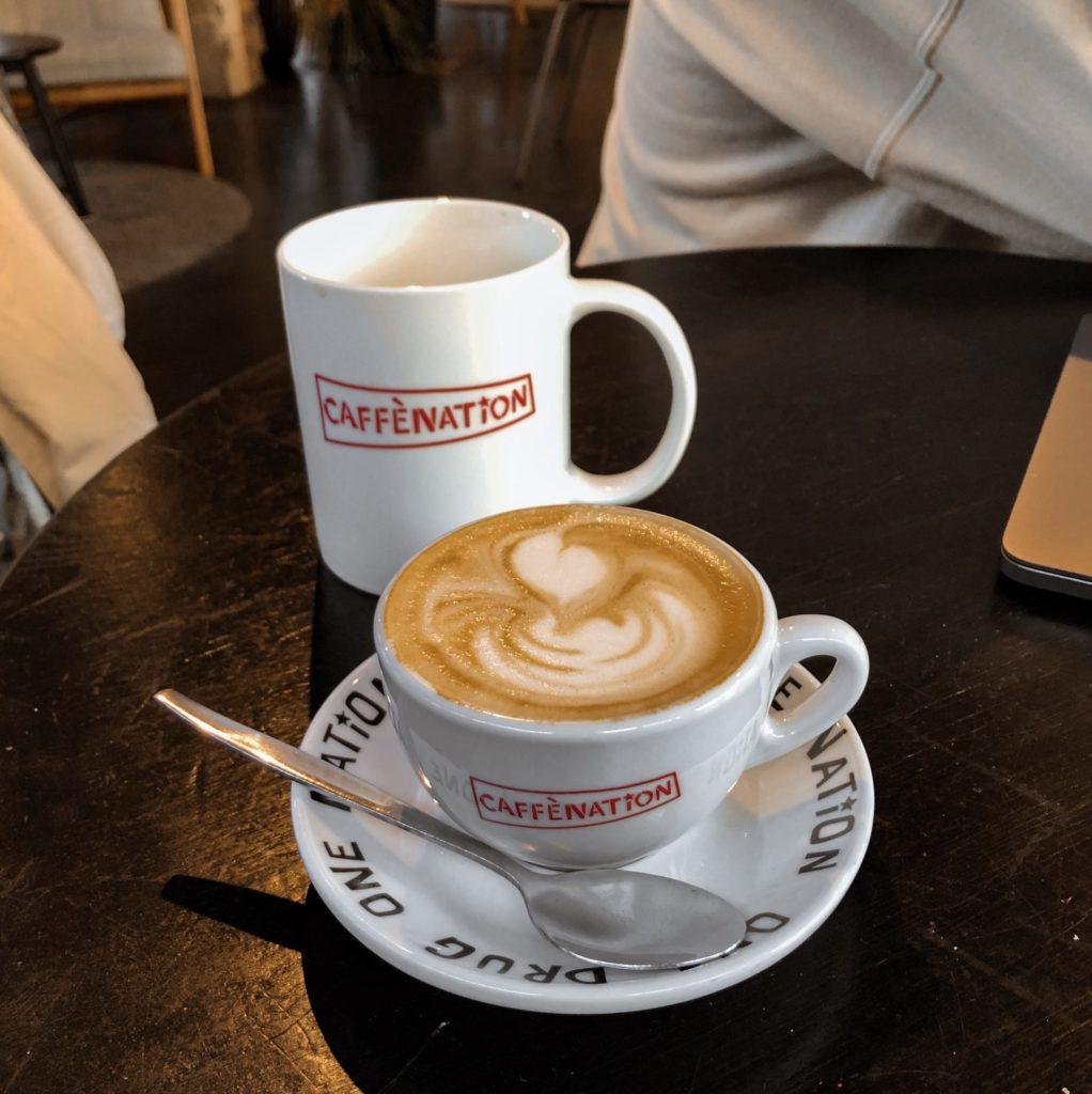 Fantastische eigen gebrande bonen bij koffiehotspot Caffènation