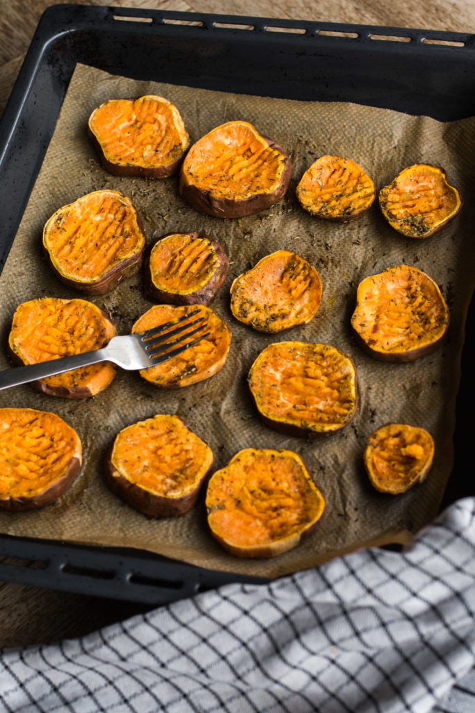 Zoete aardappel uit de oven recept