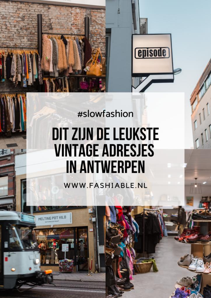 Dit zijn de leukste vintage adresjes in Antwerpen