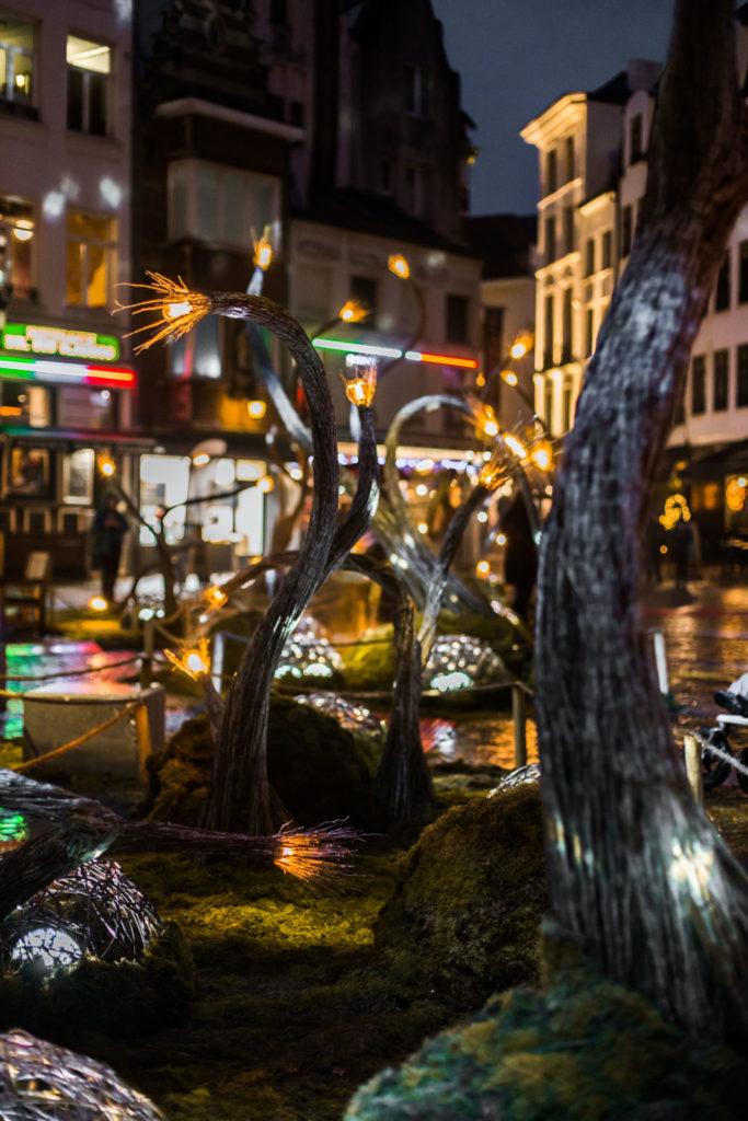 Kerstmarkt in Antwerpen - Magische Winterbos