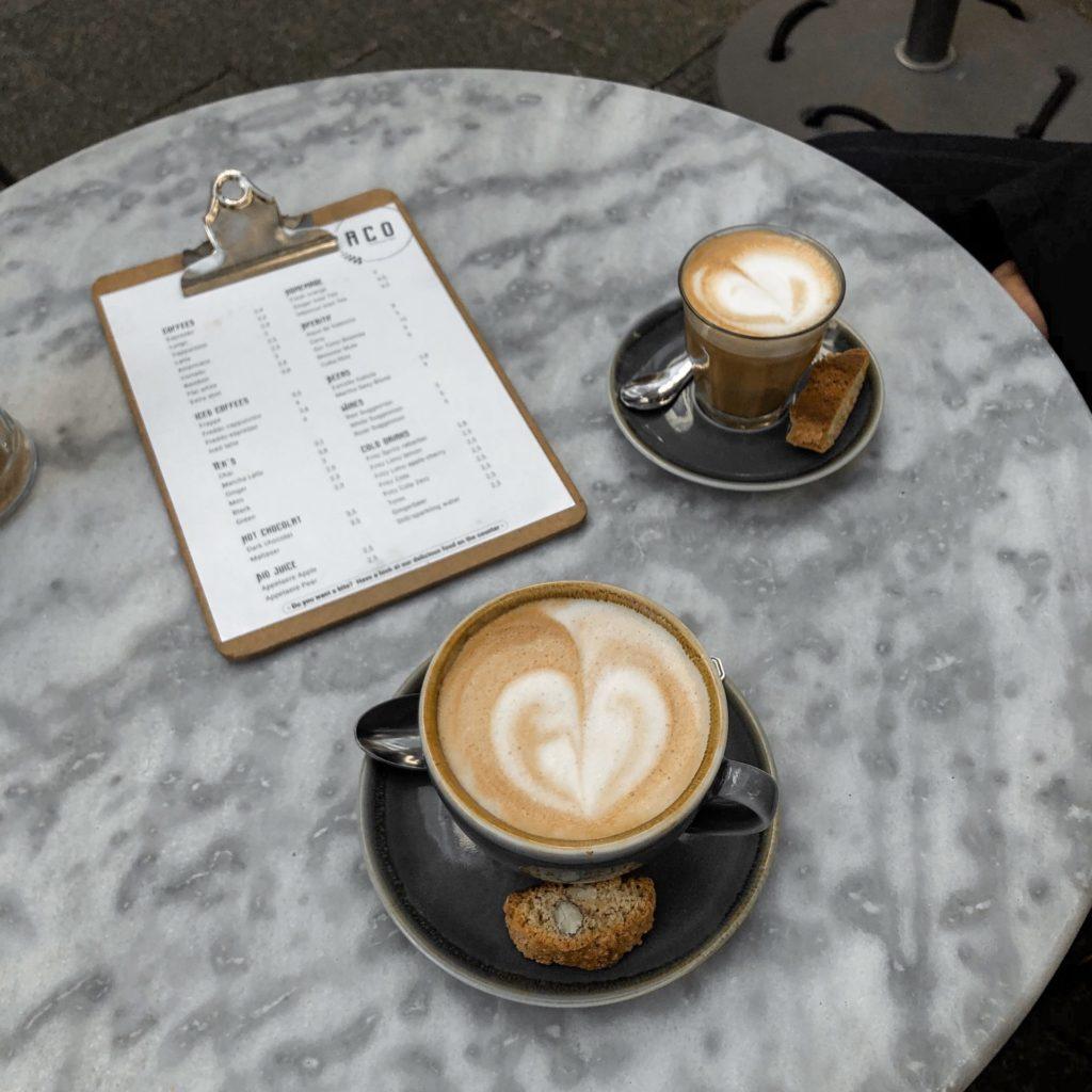 Koffiespot in het centrum van Antwerpen: Paco Espresso Bar