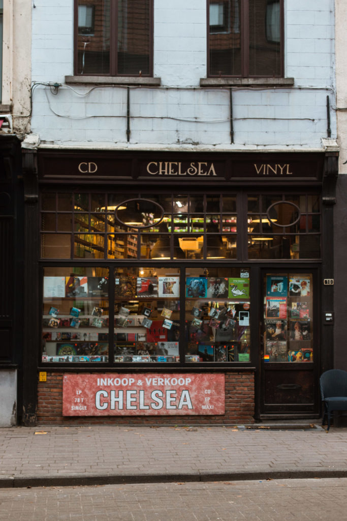 Record stores in Antwerpen: Chelsea Records in de Kloosterstraat