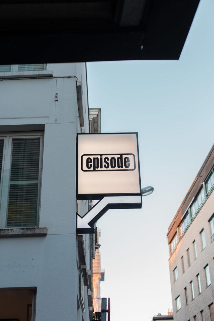 Vintage winkel Episode in Antwerpen