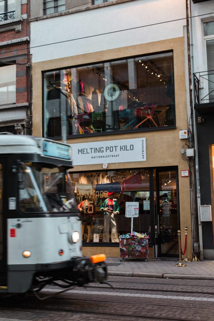Tweedehands winkelen in Antwerpen: Melting Pot Kilo