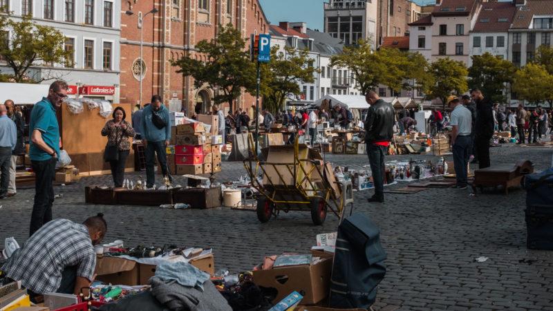 Bezoek rommelmarkten voor de leukste koopjes