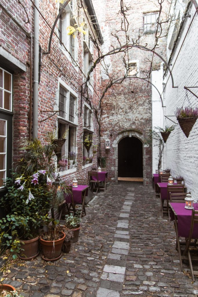 De geheime Vlaeykensgang in Antwerpen