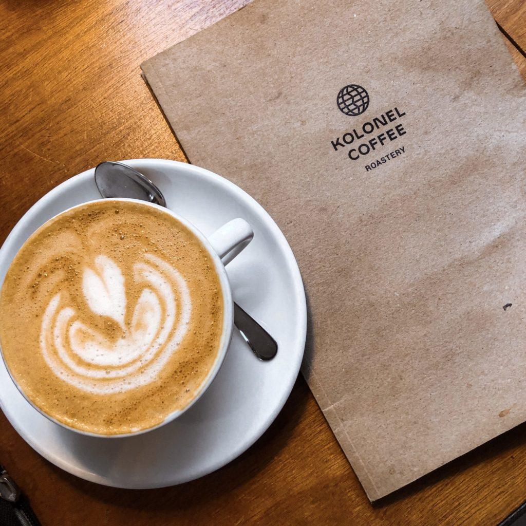 Koffietenten in Antwerpen: Kolonel & Reede