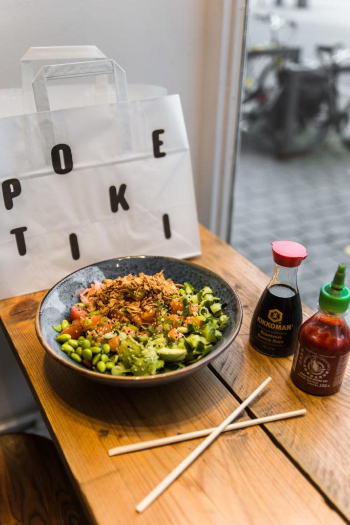 Overheerlijke poke bowls Poke Tiki in Antwerpen