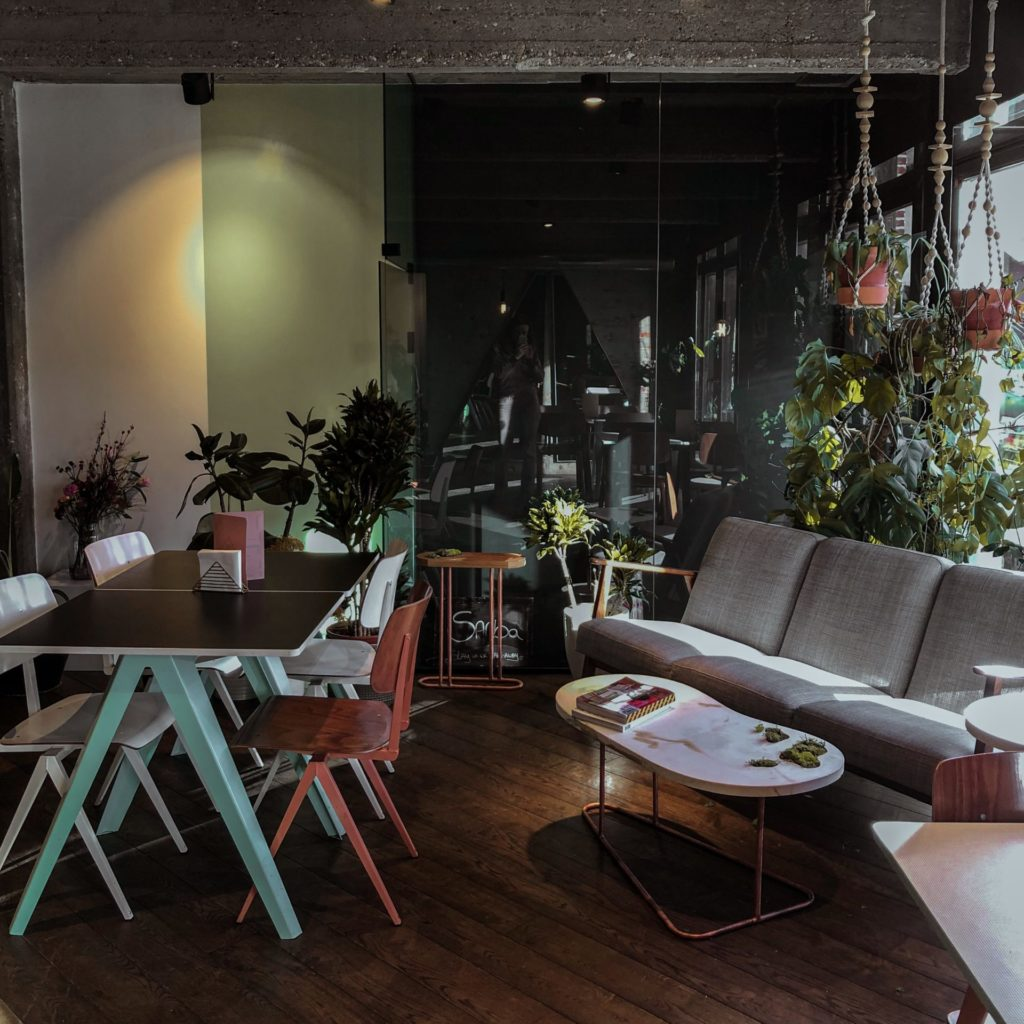 Co-working café SANBA in Antwerpen